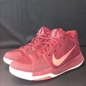 Nike Kyrie 5 Burgundy Kids